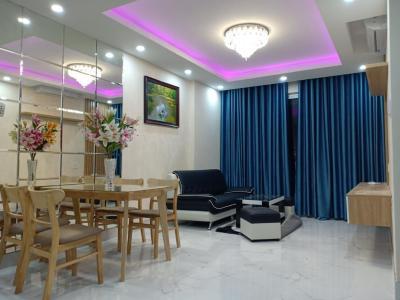 Cho thuê căn hộ Sunrise Riverside 3PN, tầng 16, đầy đủ nội thất, view kênh Rạch Đĩa và Quận 7