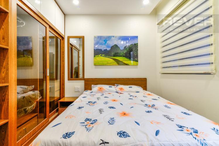 Phòng Ngủ 2 Cho thuê căn hộ The Gold View tầng cao, view đẹp, 2PN đầy đủ nội thất
