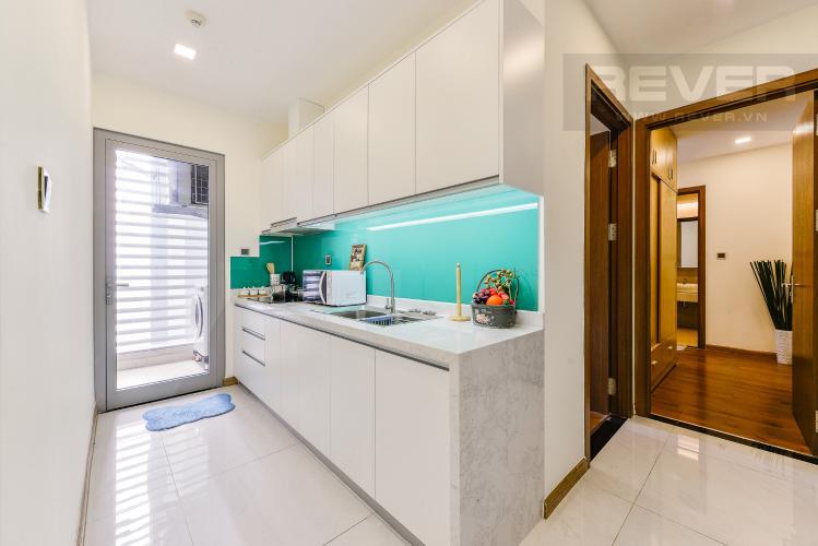 Bếp Cho thuê căn hộ Vinhomes Central Park 2PN đầy đủ nội thất