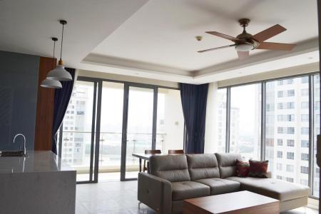 Cho thuê căn hộ Diamond Island - Đảo Kim Cương 3PN, tầng trung, đầy đủ nội thất, căn góc view thoáng