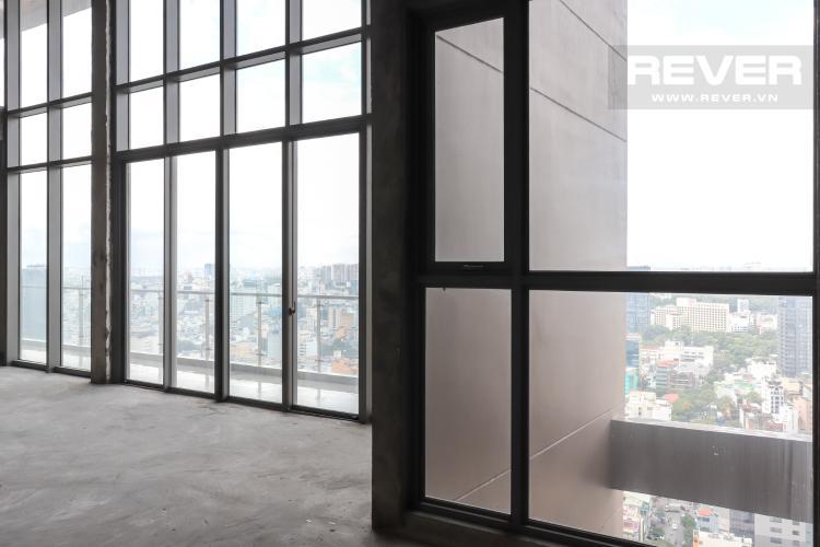 Không Gian Giữa Nhà Bán penthouse Masteri Millennium 3PN, block A, không nội thất, thiết kế thông tầng, view panarama thành phố