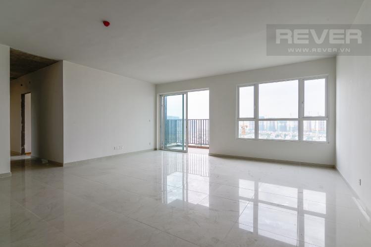 Phòng Khách Căn góc Vista Verde 3 phòng ngủ tầng cao T1 mới bàn giao, view sông