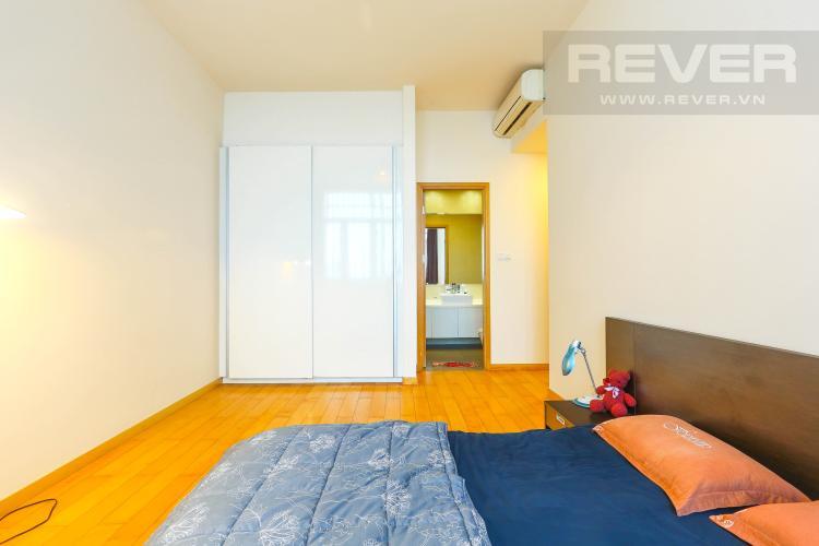Phòng Ngủ 1 Căn hộ The Vista An Phú tầng trung, 2PN, nội thất đầy đủ, view hồ bơi