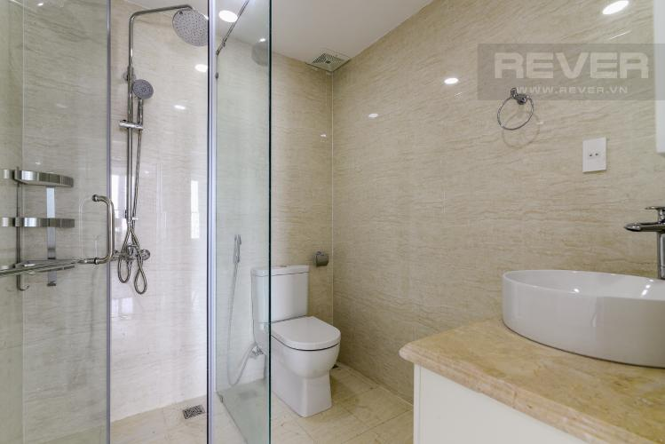 Phòng Tắm 1 Cho thuê căn hộ tầng cao Léman Luxury Apartments, 2PN, đầy đủ nội thất