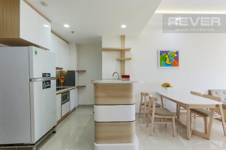 Phòng Bếp Căn hộ RiverGate Residence 2 phòng ngủ tầng cao tháp A view sông