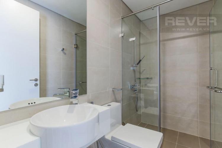 Phòng tắm căn hộ Masteri Millennium, Quận 4 Căn hộ Masteri Millennium bàn giao đầy đủ nội thất, tầng cao.