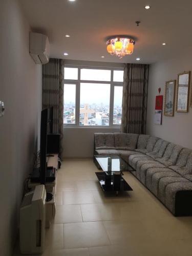 Phòng khách Bảy Hiền Tower, Tân Bình Căn hộ Bảy Hiền Tower tầng  trung, view Bitexco tuyệt đẹp.