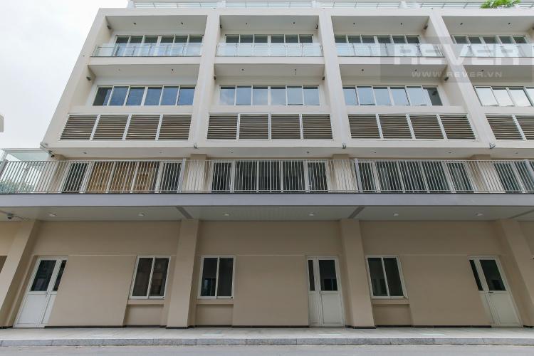 Mặt sau nhà Cho thuê căn hộ shophouse Sarimi Sala Đại Quang Minh, diện tích 456m2, bàn giao hoàn thiện bên ngoài