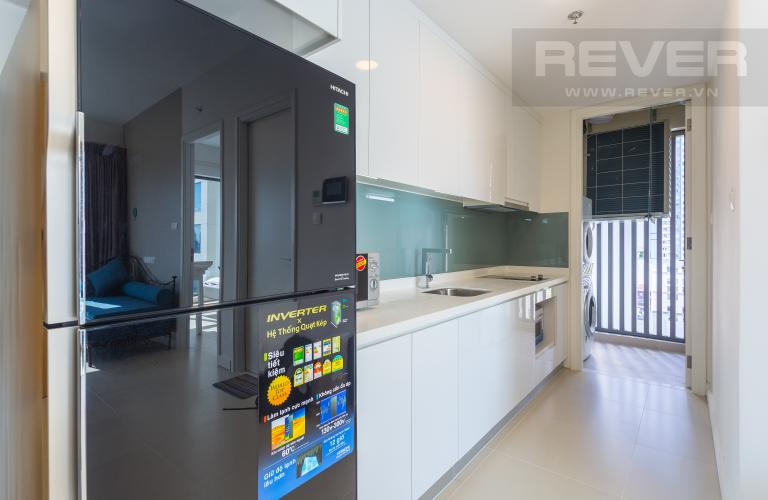Khu Vực Bếp Bán và cho thuê căn hộ Aspen Gateway Thảo Điền tầng cao, 1PN, đầy đủ nội thất