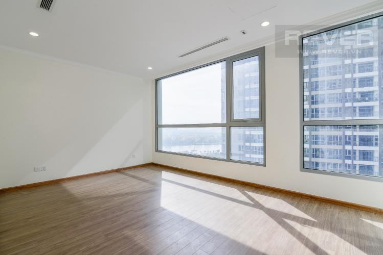 Phòng Ngủ 1 Căn hộ Vinhomes Central Park 4 phòng ngủ tầng trung L1 view sông