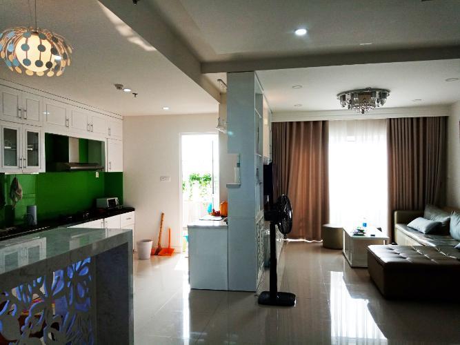 phòng khách Căn hộ Sunrise City quận 7 Căn hộ Sunrise City tầng 22 ban công hướng Bắc, nội thất đầy đủ