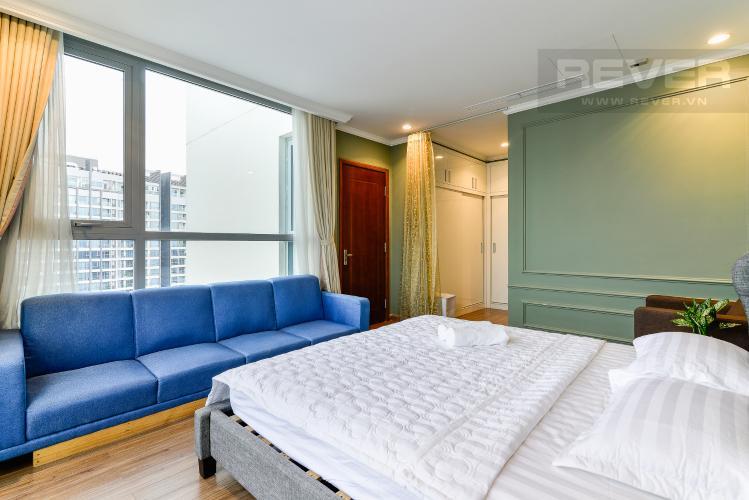 Phòng Ngủ 1 Căn hộ Vinhomes Central Park 2 phòng ngủ tầng cao C3 hướng Đông