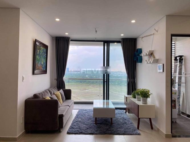 Phòng khách Thủ Thiêm Dragon, Quận 2 Căn hộ Thủ Thiêm Dragon  tầng thấp, hướng Đông Bắc, view sông.