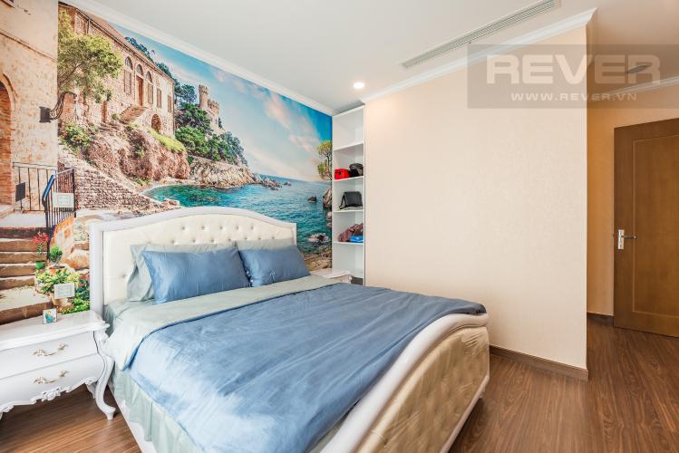 Phòng ngủ 2 Căn góc Vinhomes Central Park 3 phòng ngủ tầng cao L6 hướng Tây Bắc