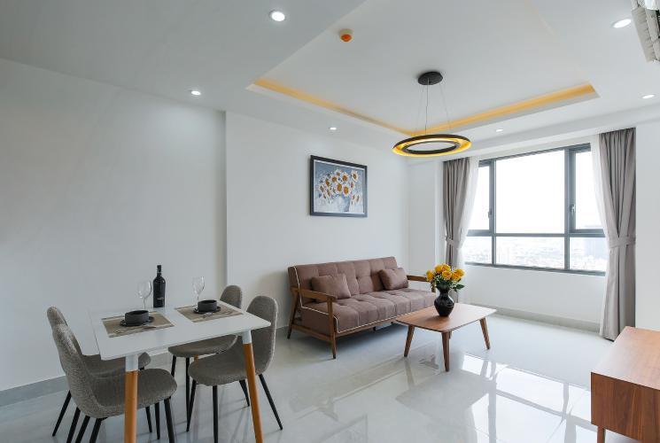Căn hộ The Gold View 2 phòng ngủ tầng cao A2 nội thất đầy đủ