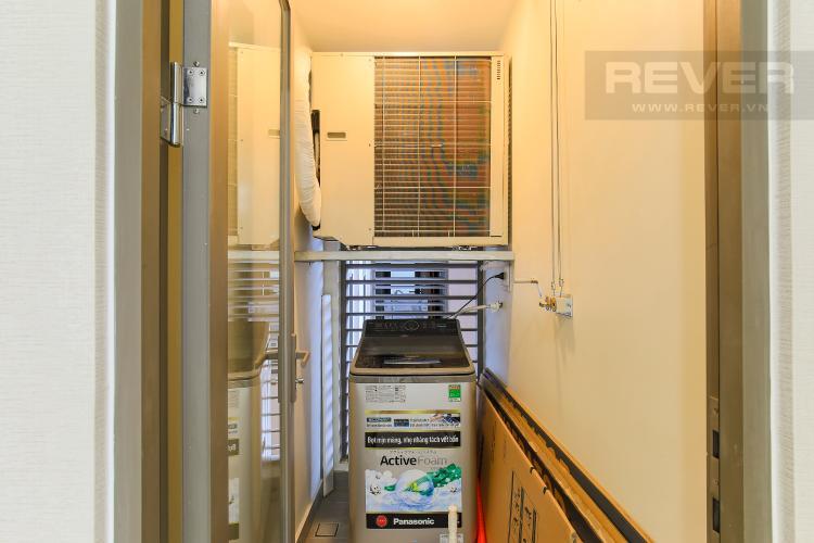 Logia Cho thuê căn hộ Masteri Millennium tầng cao, 2PN đầy đủ nội thất view sông