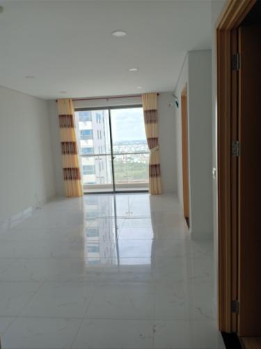 Phòng khách căn hộ AN GIA SKYLINE Bán căn hộ An Gia Skyline 2PN, tầng 12A, không nội thất, ban công hướng Nam