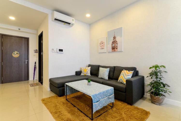 Cho thuê căn hộ 1 phòng ngủ Icon 50, diện tích 50m2, đầy đủ nội thất, view kênh Bến Nghé
