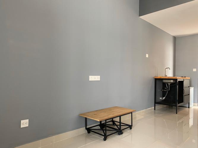 Phòng khách căn hộ RIVERGATE RESIDENCE Cho thuê căn hộ RiverGate Residence 1PN, tháp B, diện tích 30m2, đầy đủ nội thất