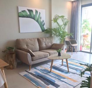Bán căn hộ The Gold View tầng cao 2 phòng ngủ, diện tích 81m2, đầy đủ nội thất