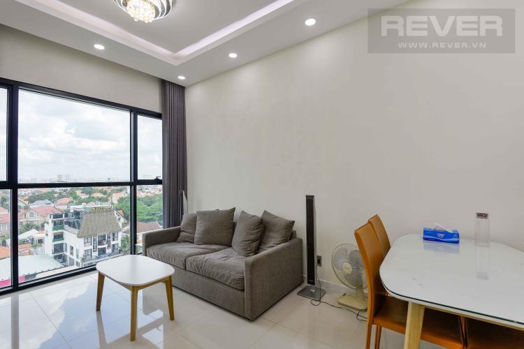 Phòng Khách Bán căn hộ The Ascent tầng thấp, đầy đủ nội thất, hướng Tây Nam vượng khí, view Landmark 81