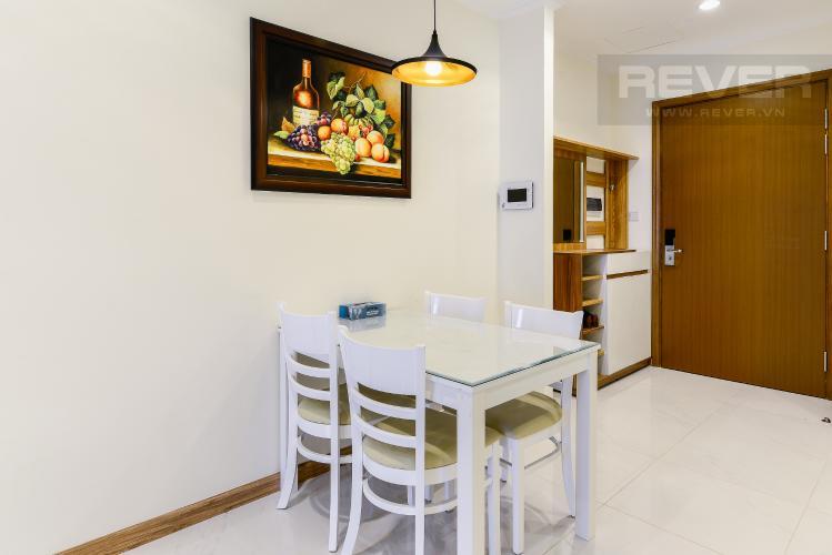 Phòng Ăn Căn hộ Vinhomes Central Park 1 phòng ngủ tầng cao L3 nội thất đầy đủ
