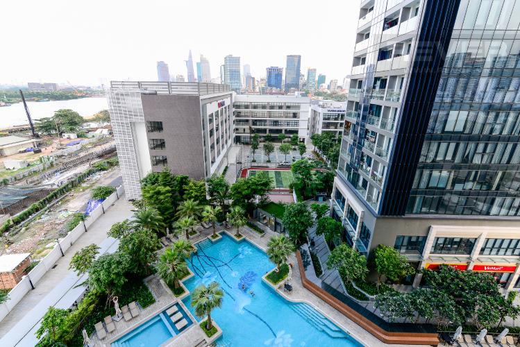 View căn hộ Vinhomes Golden River Căn hộ Vinhomes Golden River view nội khu yên tĩnh, tầng thấp.