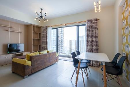 Căn góc Masteri Thảo Điền 2 phòng ngủ tầng cao T4 view công viên