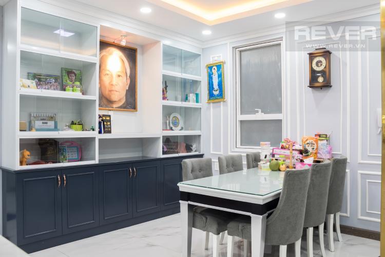 Phòng Ăn Bán căn hộ Sunrise CityView 3PN, tầng trung, đầy đủ nội thất, view hồ bơi và đường Nguyễn Hữu Thọ