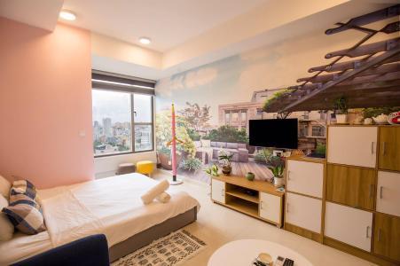 Cho thuê căn hộ RiverGate Residence 1 phòng ngủ, diện tích 25m2, đầy đủ nội thất