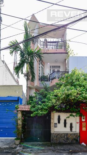 Mặt tiền nhà phố Nhà phố 3 phòng ngủ mặt tiền Nguyễn Cửu Vân Quận Bình Thạnh