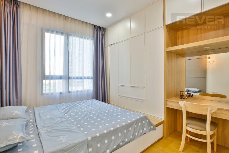 Phòng Ngủ 2 Cho thuê căn hộ Masteri Thảo Điền tầng trung, 2PN, đầy đủ nội thất, view hồ bơi
