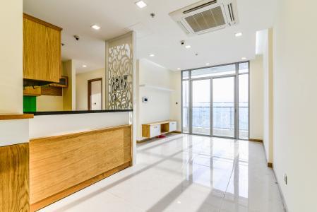 Officetel Vinhomes Central Park 2 phòng ngủ tầng cao P7 đầy đủ tiện nghi