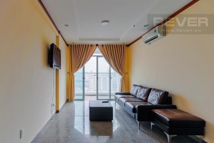 Phòng Khách Căn hộ Hoàng Anh Thanh Bình 3 phòng ngủ tầng cao tháp B view toàn cảnh