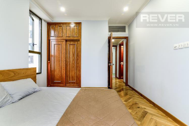 Phòng Ngủ 1 Căn hộ Icon 56 tầng thấp, 2 phòng ngủ, full nội thất