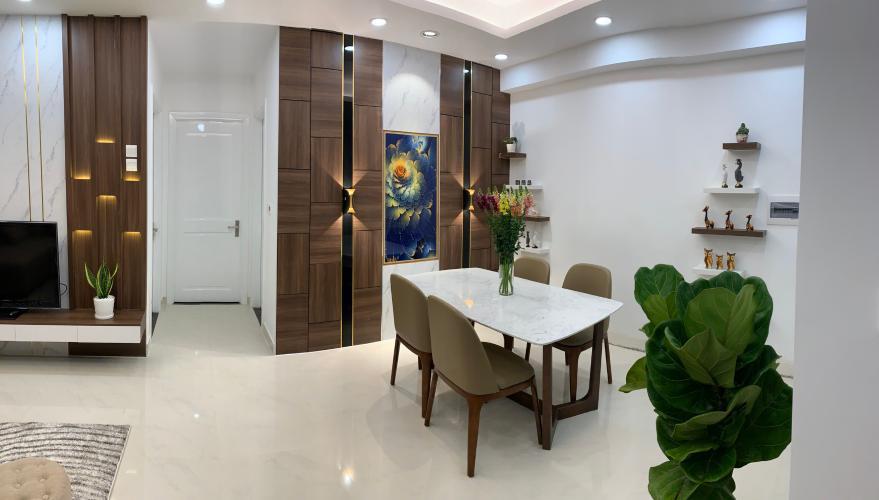Phòng khách , Căn hộ SaiGon Mia , Huyện Bình Chánh Căn hộ Saigon Mia cửa hướng Đông, view thành phố thoáng mát.