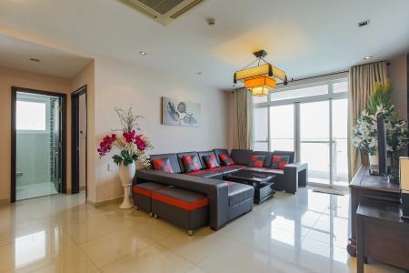 Căn hộ Riverside Residence 3 phòng ngủ tầng thấp EE2 view sông