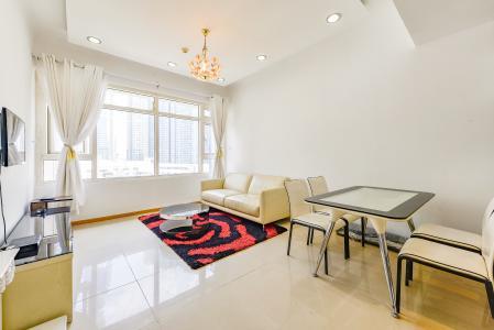 Căn hộ Saigon Pearl 2 phòng ngủ tầng thấp Topaz 2 nội thất đầy đủ
