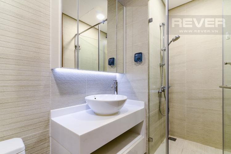 Phòng Tắm 1 Cho thuê căn hộ Vinhomes Central Park tháp Park 1 tầng trung, 2PN đầy đủ nội thất