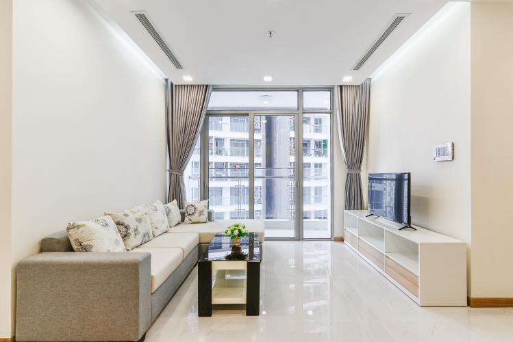 Căn hộ Vinhomes Central Park 2 phòng ngủ tầng trung P7 đầy đủ nội thất