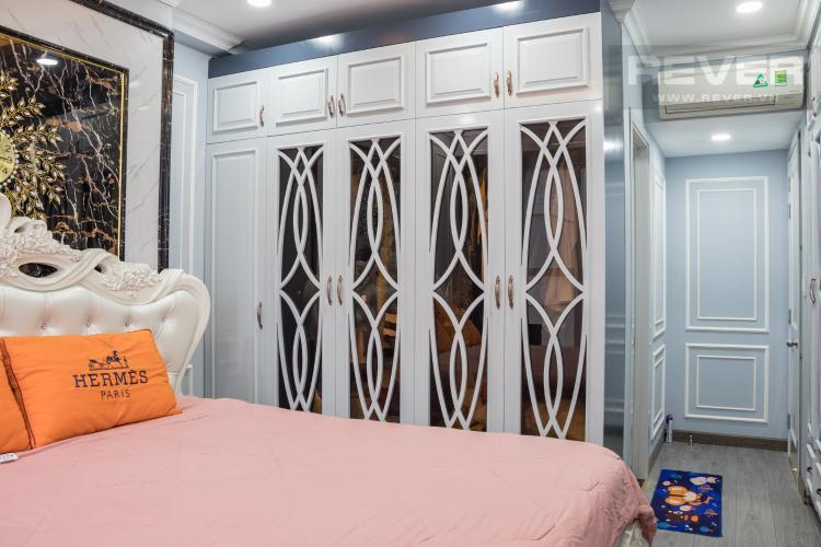 Phòng Ngủ Bán căn hộ Sunrise CityView 3PN, tầng trung, đầy đủ nội thất, view hồ bơi và đường Nguyễn Hữu Thọ