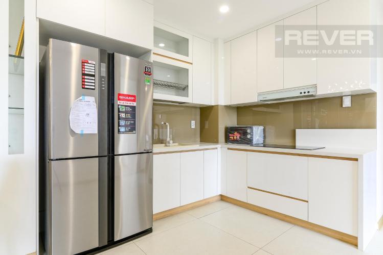 Phòng ăn và bếp căn hộ NEW CITY THỦ THIÊM Bán hoặc cho thuê căn hộ 3 phòng ngủ New City Thủ Thiêm, tháp Bali, đầy đủ nội thất, view đại lộ Mai Chí Thọ