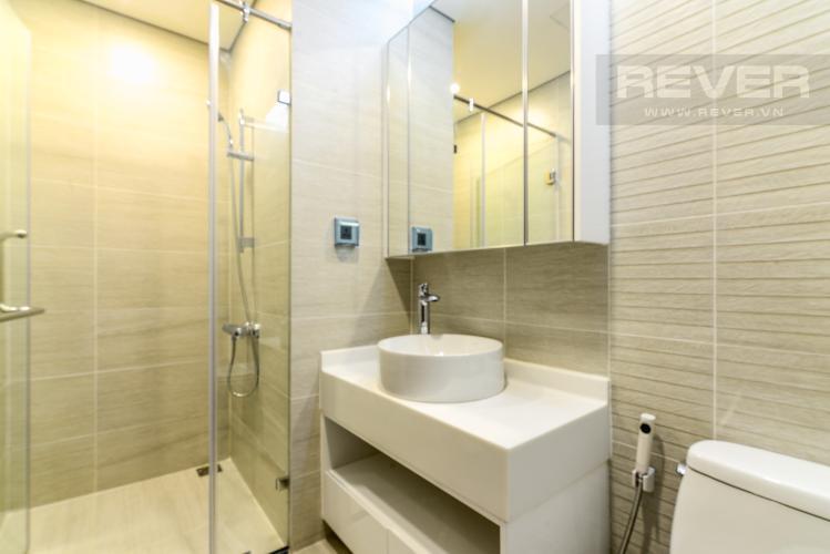 Phòng Tắm 1 Cho thuê căn hộ Vinhomes Central Park tầng cao 3PN nội thất đầy đủ, view sông