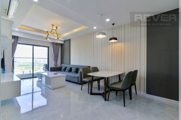 Phòng Khách Cho thuê căn hộ De Capella 3PN, tầng cao, đầy đủ nội thất, hướng Đông Bắc đón gió