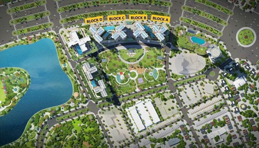 Bán căn hộ tầng trung Eco Green Saigon, ban công hướng Tây, đầy đủ nội thất, giao dịch ngay.