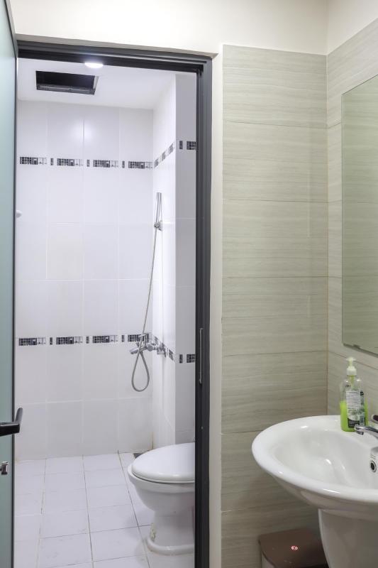 Phòng Tắm Bán căn hộ chung cư Phú Mỹ 3 phòng ngủ, block 2, diện tích 117m2, đầy đủ nội thất, view thoáng