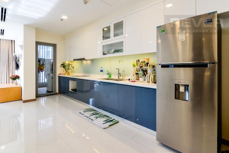 Nhà Bếp Căn hộ Vinhomes Central Park tầng cao, park 1, 3 phòng ngủ full nội thất