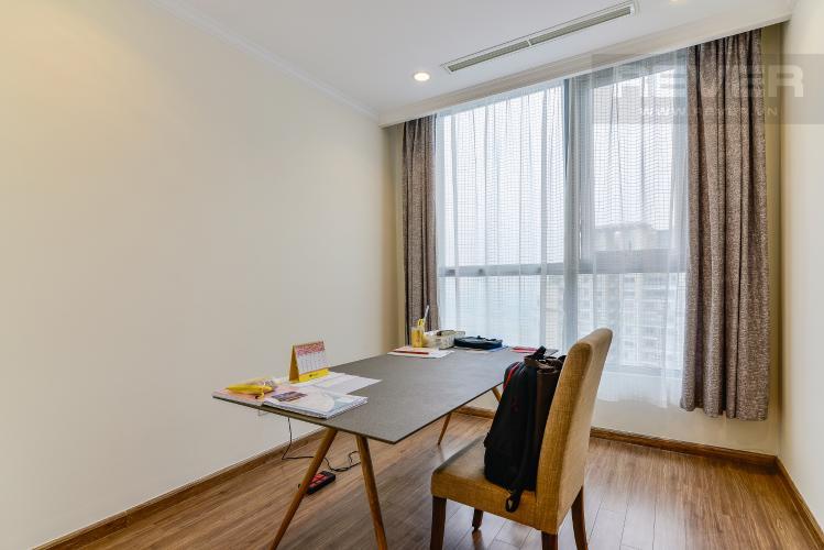 Phòng Làm Việc Căn hộ Vinhomes Central Park 4 phòng ngủ tầng cao C2 view sông