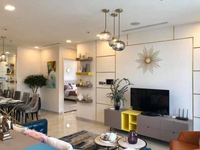Bán căn hộ Vinhomes Golden River 3PN, tầng thấp, đầy đủ nội thất, hướng Đông Bắc đón gió