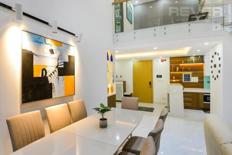 Phòng Khách Bán căn hộ Vista Verde 2PN, tháp Orchid, diện tích 134m2, đầy đủ nội thất, có tầng lửng